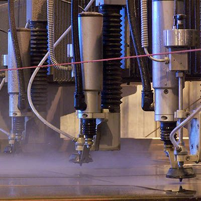 abrasive water jet cutting