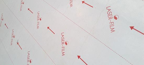 laser plate